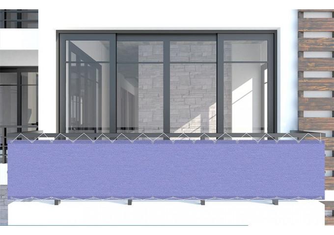 Brise vue Violette violet Sauleda Sensation 2252