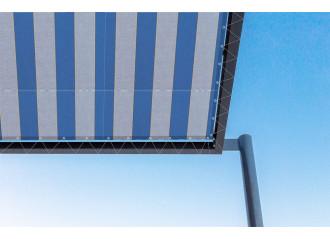 Toile de pergola alaska bleu Sauleda Sensation 2023