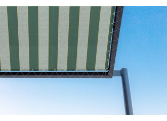 Toile de pergola canada vert Sauleda Sensation 2061