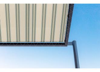 Toile de pergola parma vert Sauleda Sensation 2207