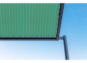 Toile de pergola tamesis vert Sauleda Sensation 2231
