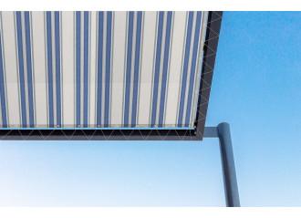 Toile de pergola veleta bleu Sauleda Sensation 2676