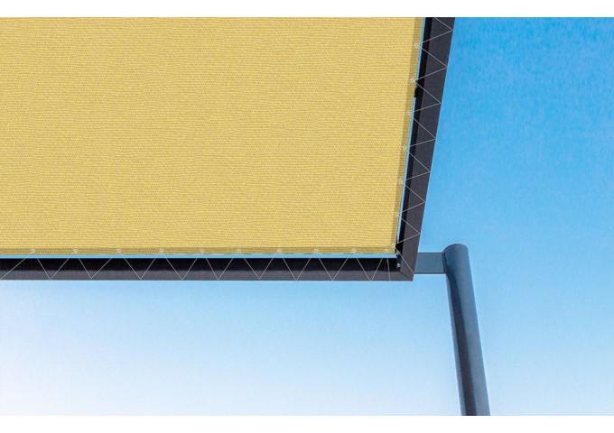 Toile de pergola oro-r jaune Sauleda Sensation 2688