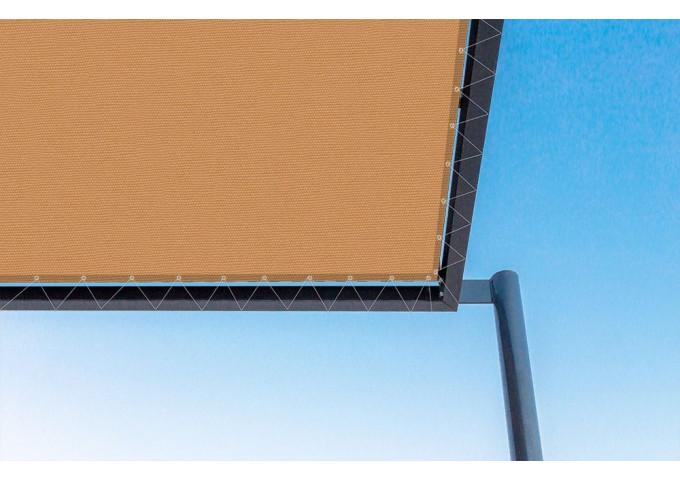 Toile de pergola azafran-r orange Sauleda Sensation 2825