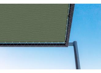 Toile de pergola tirol-r vert Sauleda Sensation 2928