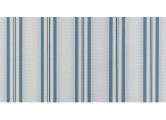 Lambrequin balmoral bleu Sauleda Sensation 2921