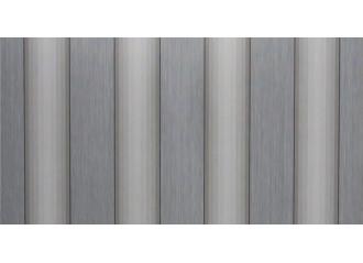 Toile au mètre antartida gris Sauleda Sensation 3014
