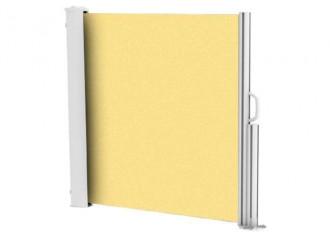 Brise vue rétractable ultra résistant avec toile Soltis 92 jaune poussin 2013