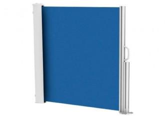 Brise vue rétractable ultra résistant avec toile Soltis 92 bleu nuit 2161