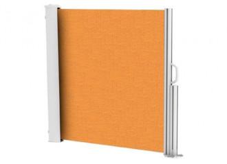 Brise vue rétractable ultra résistant avec toile Soltis 92 orange 8204