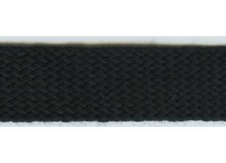 Galon de store noir intense 22mm