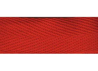 Galon de store rouge intense 22mm