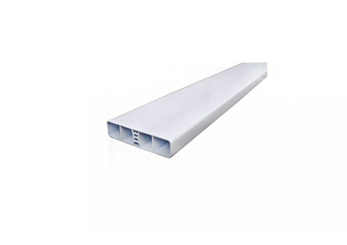 Lame PVC blanche 80x24mm - 1.50ml