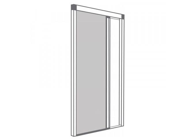 moustiquaire enroulable lat rale 1 vantail fen tre simple. Black Bedroom Furniture Sets. Home Design Ideas