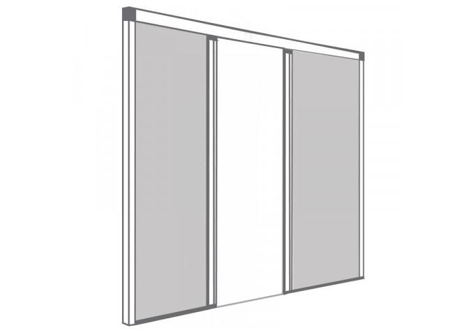 Moustiquaire Enroulable Latérale 2 Vantaux Double Fenêtre Sur Mesure