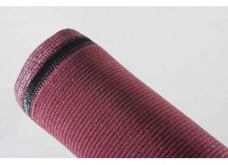 Brise vue PEHD haute qualité 100% occultant rouge basque