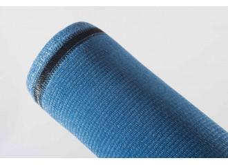 Brise vue PEHD haute qualité 100% occultant bleu de Mykonos