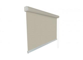 Store enrouleur toile beige 100% occultante OPAC 400 SAND