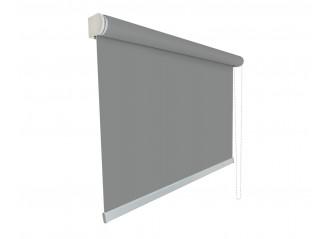Store enrouleur Anti-chaleur toile 1% d'ouverture gris 007007 grande dimensions