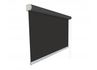 Store enrouleur Anti-chaleur toile 1% d'ouverture charcoal et bronze 010011 grande dimensions