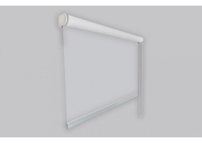 Protection comptoir avec store enrouleur en toile transparente cristal - Spécial COVID 19