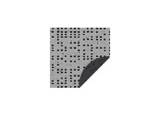 Toile de store serge ferrari alu/anthracite 92 2068 soltis 92