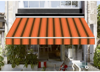 Toile de store banne Dickson Orchestra Chantilly orange 0744