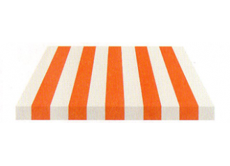 Toile de store Giovanardi Orange blanc BYE 3052