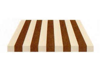 Toile de store Giovanardi marron chine BYE 3306