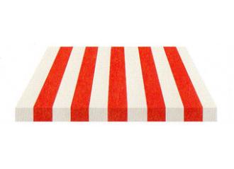 Toile de store Giovanardi rouge blanc BYE 4410