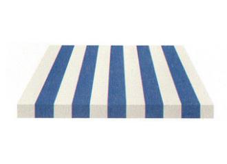 Toile de store Giovanardi bleu vif blanc BYE 4450
