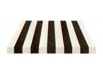 Toile de store Giovanardi noir blanc BYE 4482