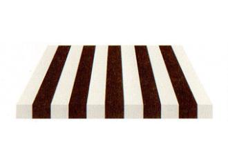 Toile de store Giovanardi marron blanc BYE 4490
