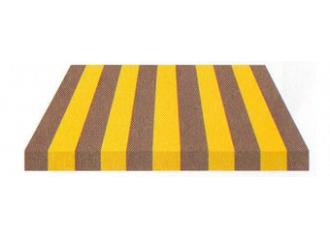 Toile de store Giovanardi jaune gris BYE 8417