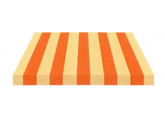 Toile de store Giovanardi orange coquille BYE 8421