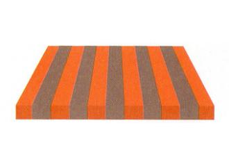 Toile de store Giovanardi gris orange BYE 8472