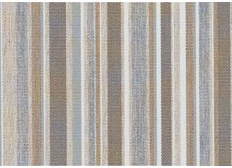 Toile au mètre Sunbrella Stripes Porto grey chiné 3777