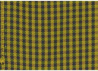Toile au mètre Sunbrella Checks Oliver yellow F061