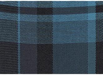 Toile au mètre Sunbrella Checks Edward peacock F058