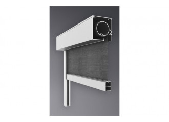 Store coffre ES vertical Smart avec ZIP toile Soltis proof 502
