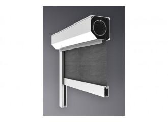 Store coffre ES vertical avec ZIP toile Soltis proof 502