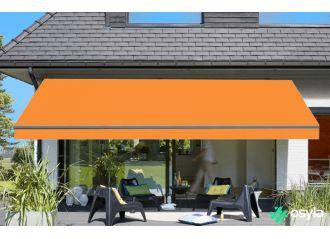 Toile de store mandarine Sauleda Sensation 2142