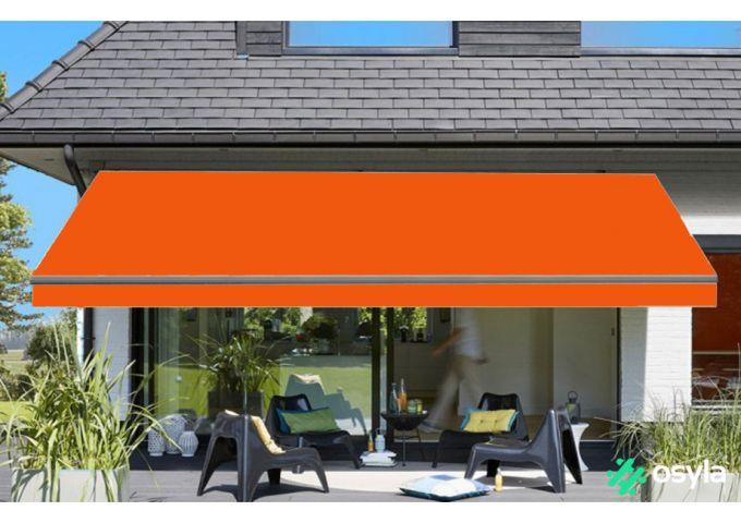 Toile de store orange Sauleda Sensation 2050