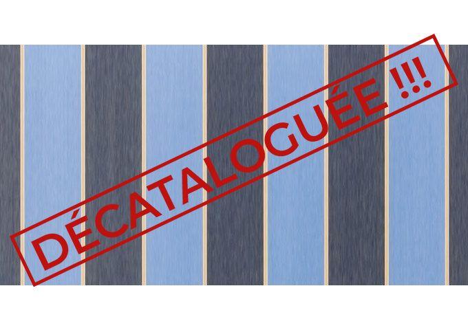 Toile au mètre florida bleu Sauleda Sensation 2804