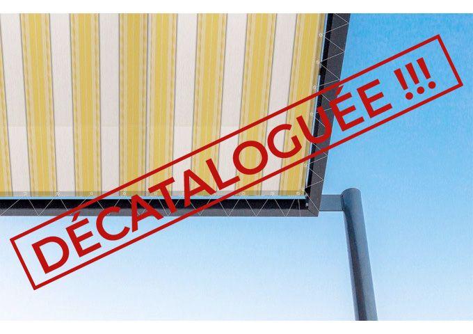 Toile de pergola mikonos jaune Sauleda Sensation 2577