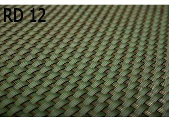 Brise vue en résine tressée green RD12 Rattan art