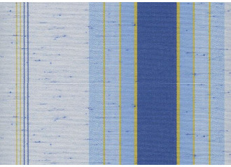 Lambrequin praga bleu Sauleda Sensation 2205