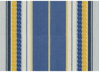 Lambrequin santorini bleu Sauleda Sensation 2579