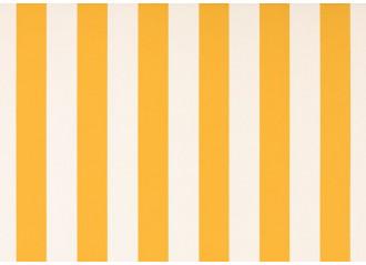 Toile au metre blanc-jaune blanc dickson orchestra 8553