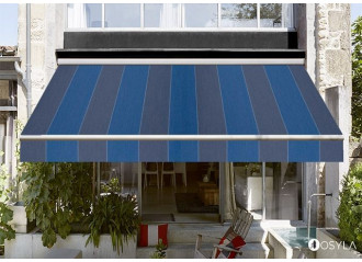 Toile de store color bloc blue Dickson orchestra d331